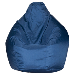 Кресло груша L синий